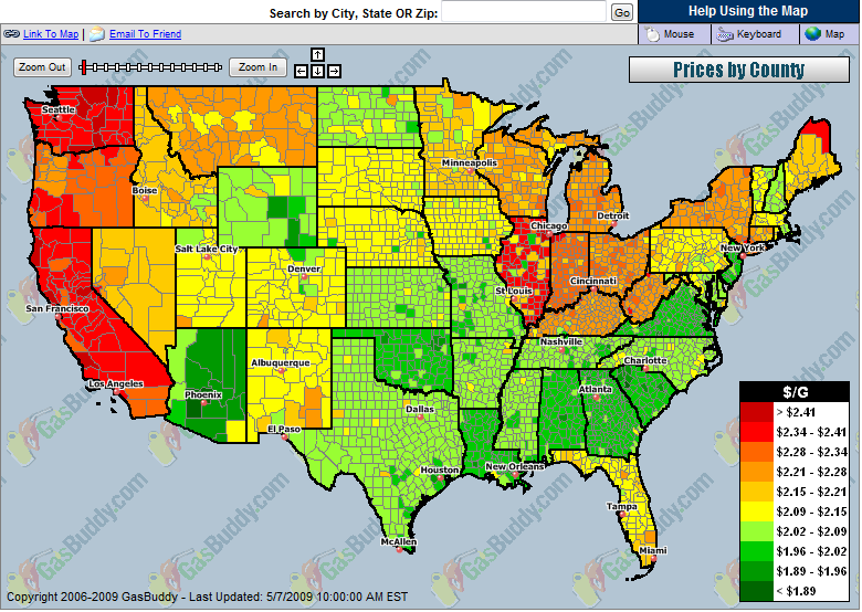 """""""Gas Price Temperature Map"""" wikimedia labeled for reuse"""