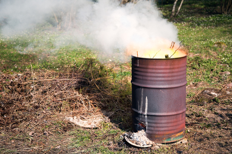 Barrel fire