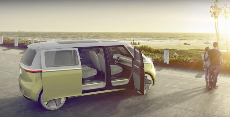 Volkswagen self driving bus