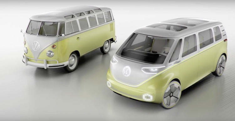 Volkswagen self driving bus