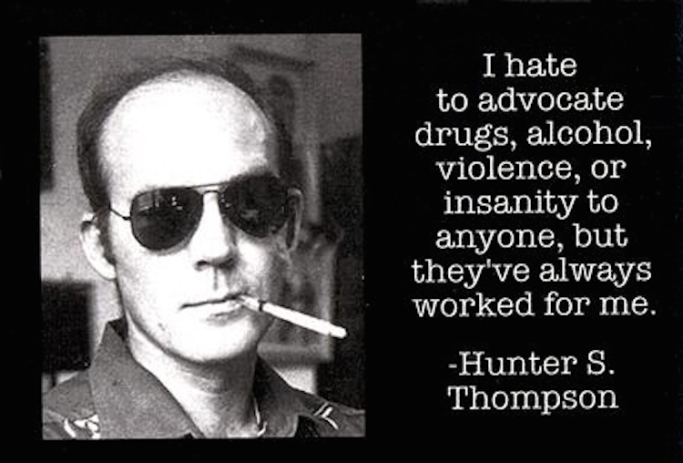 hunter s thompson fear and loathing