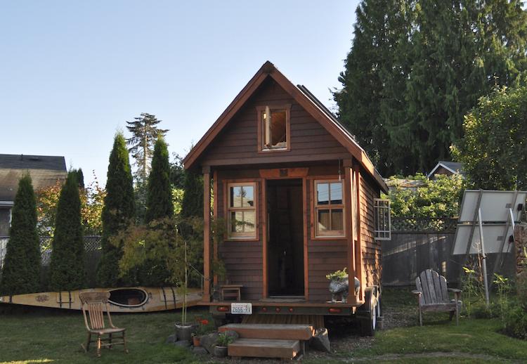 tiny house on a budget
